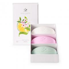 Acca Kappa - Seifenset Muschio Bianco - Sakura Tokyo - Mandarina & Green Tea