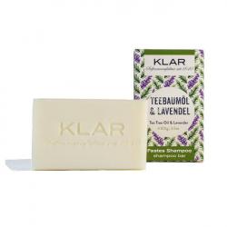 Klar - Festes Shampoo Teebaumöl Lavendel 100