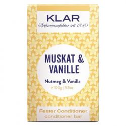 Klar - fester Conditioner Muskat/Vanille