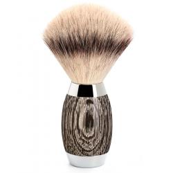 Mühle - Rasierpinsel Silvertip Fibre® Mooreiche und Sterlingsilber