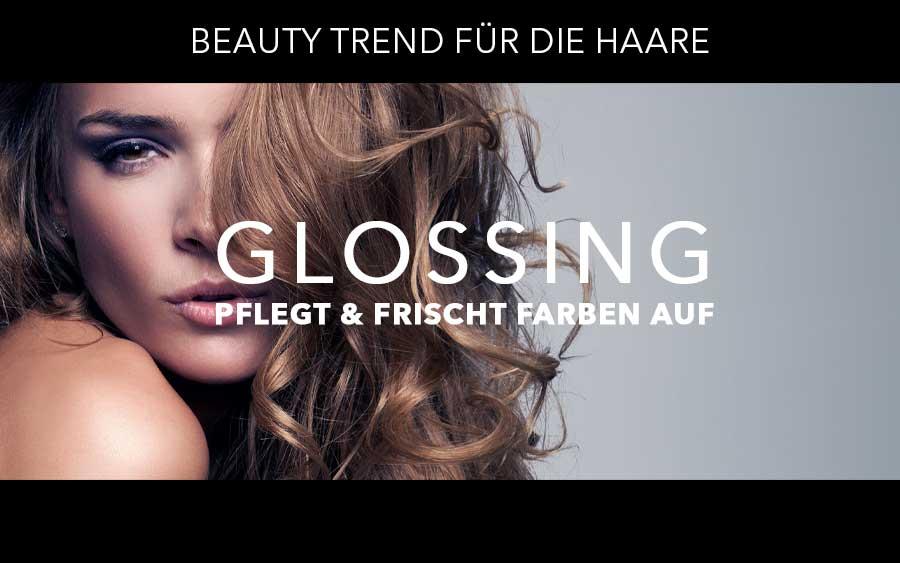 Beauty-Trend für die Haare: Glossing pflegt und frischt Farben auf