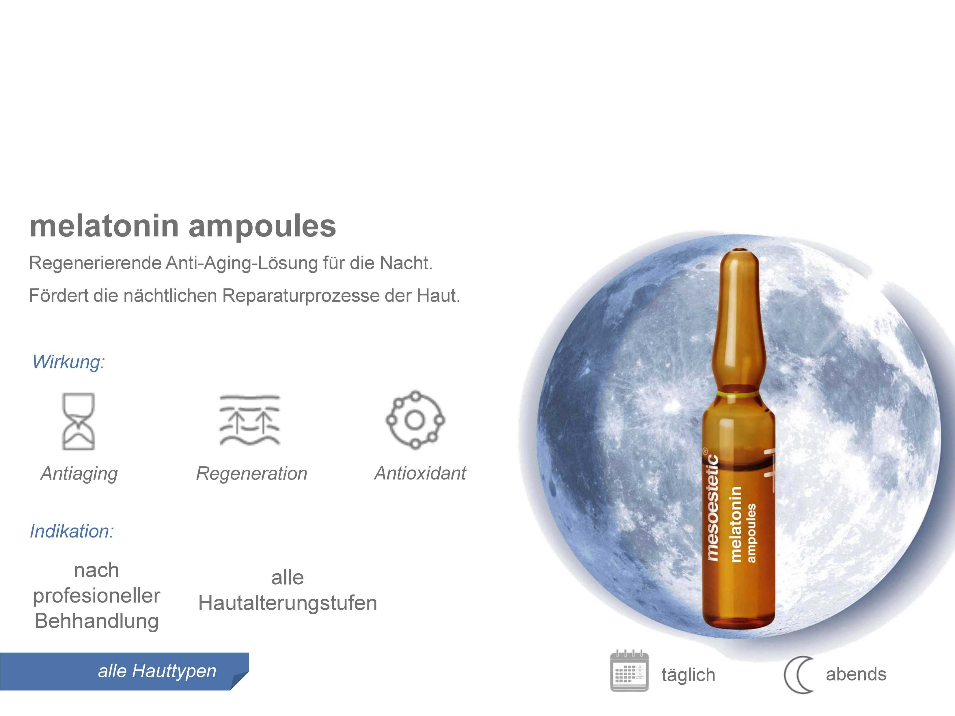 Mesoestetic - Ampulle Melatonin