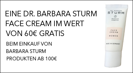 Dr barbara Sturm Gratisaktion