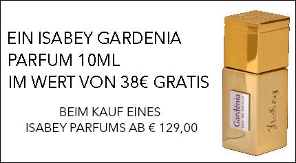 Isabey Gardenia Gratisaktion