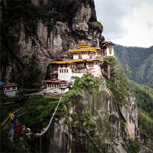 Tiger´s Nest Kloster Bhutan
